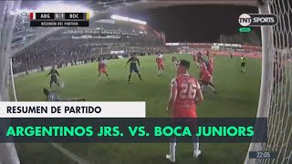 Resumen de Argentinos Juniors vs Boca Juniors (0-1) | Fecha 5 - Superliga Argentina 2018/2019