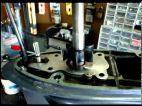 How to replace water pump impeller on 1999 Yamaha 50 HP Outoard  YouTube