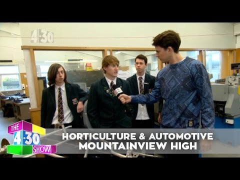 Horticulture & Automotive Class - Mountainview High School