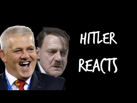 Hitler Reacts to News that Joe Launchbury Will Not be Selected for the Lions    2017