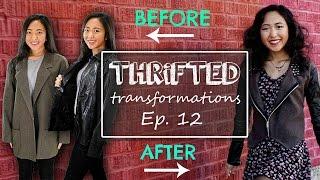 Thrifted Transformations | Ep. 12 (DIY Blazer Jacket)