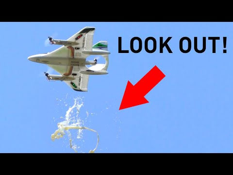 VTOL Drone Delivery Gone Wrong
