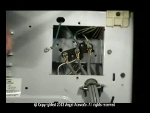 Wiring Diagram For Dryer Plug Water Heater 3 Prongs Cord Maytag Electric Youtube
