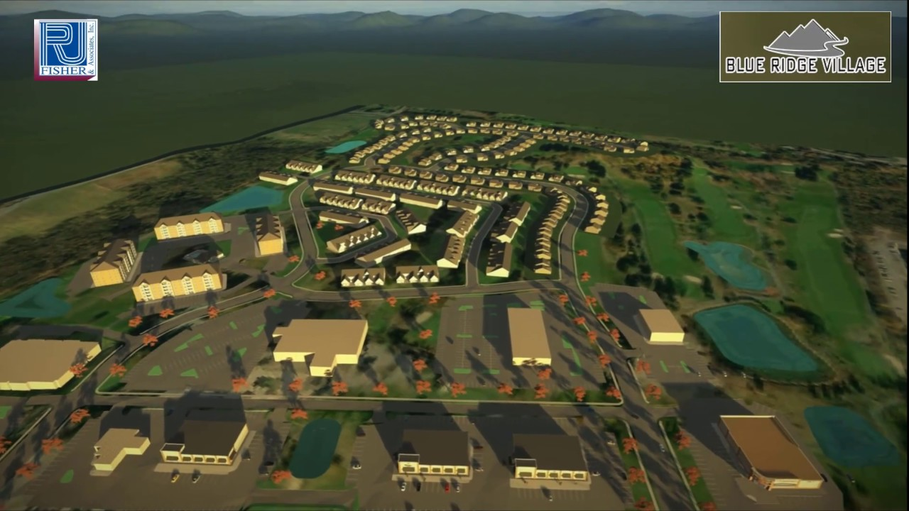 Blue Ridge Village 3D Model