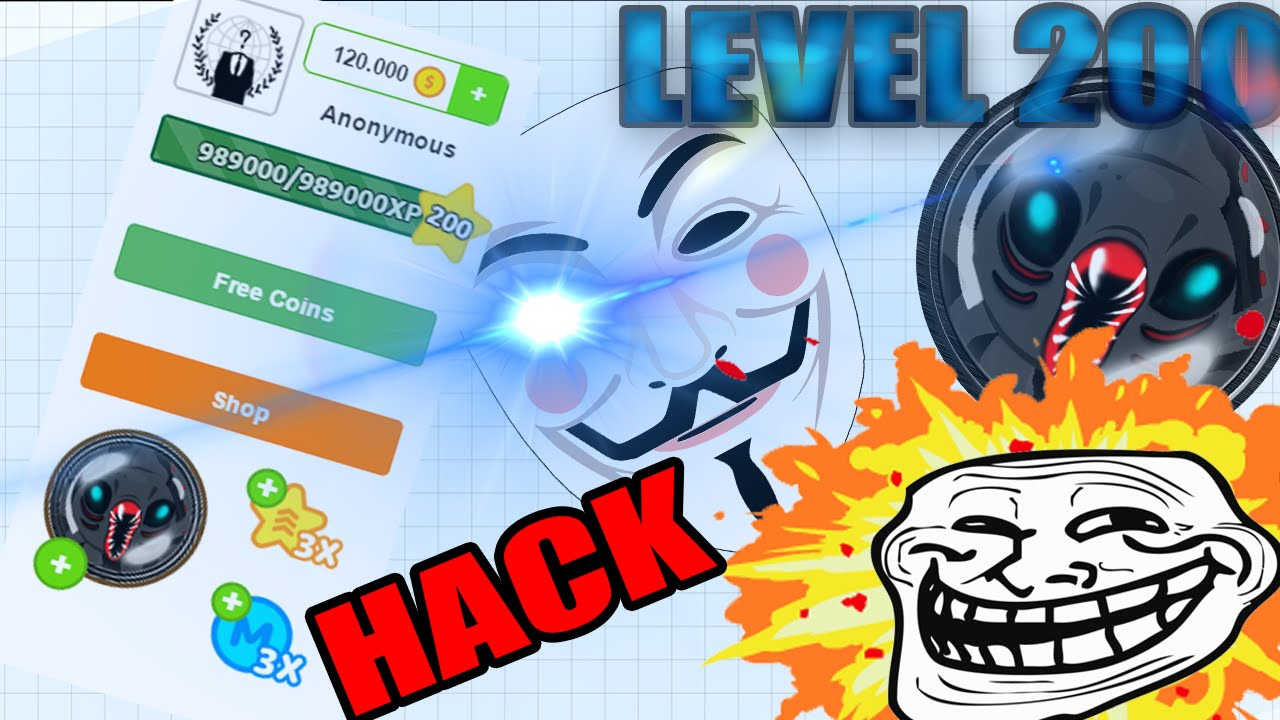 Agario Hack New Level 200 Free How To Get Level 100 And 200