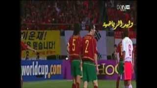 جيل البرتغال الذهبي يخسر من كوريا ج مونديال 2002  م أيمن جادة