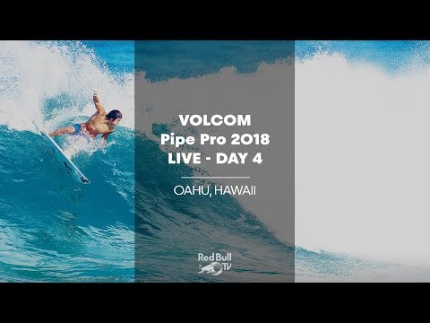 Surfing LIVE - Volcom Pipe Pro 2018 - Day 4