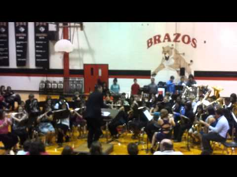 """Brazos High School Band- """"Chasing the Storm"""""""