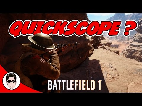Can you QUICKSCOPE in Battlefield 1?? (EPIC SMLE & Martini Sniper Multiplayer montage)