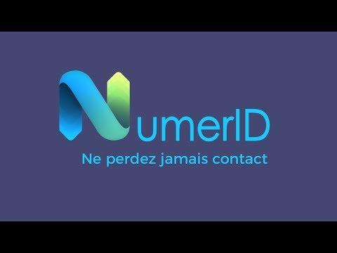 NumerID Application Mobile - Ne perdez jamais contact