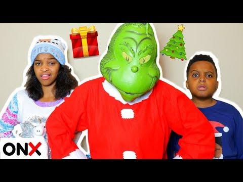 THE GRINCH VISITS Shiloh And Shasha - Onyx Kids