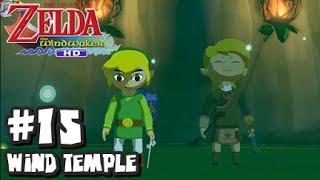 The Legend of Zelda Wind Waker HD Wii U - (1440p) Part 15 - Wind Temple (1/3)