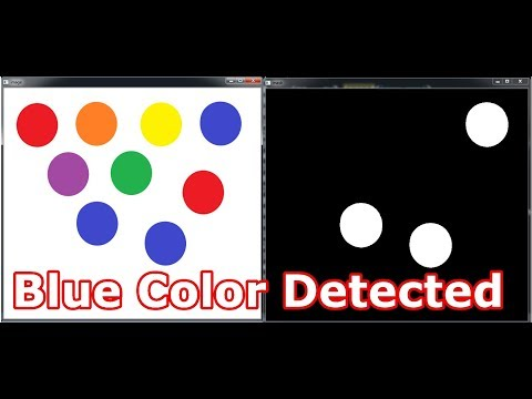 Python OpenCV Color Detection Example