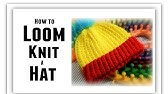 LOOM KNIT Hat for BEGINNERS Step by Step, All Sizes, Make Brim, Change Color, Rows StitchLoomaHat