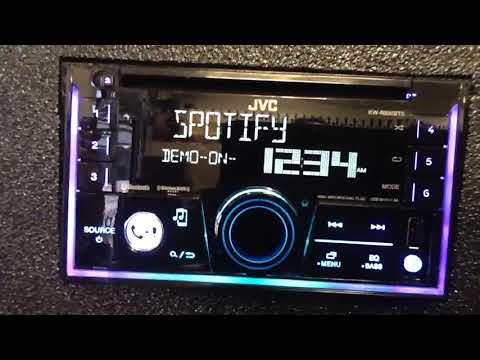 Kw-r930bts jvc bluetooth double din CD player