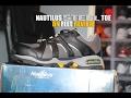 Nautilus steel toe shoe on feet review