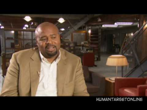 Chi McBride Interview on the Set of Human Target