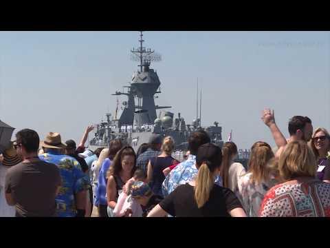 HMAS Ballarat departs for Middle East Region
