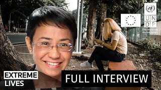 Weaponizing Social Media | FULL INTERVIEW #ExtremeLives with Maria Ressa
