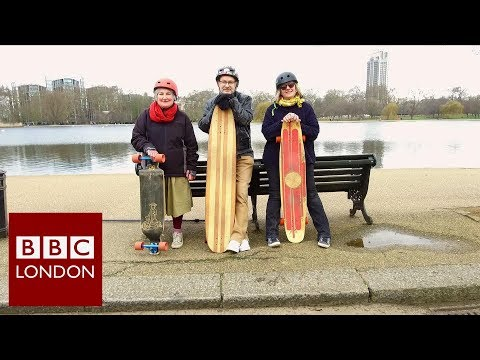 Never too old to skateboard – BBC London News