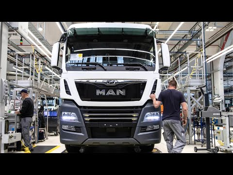 Manufacturing MAN trucks - Production heavy goods vehicles