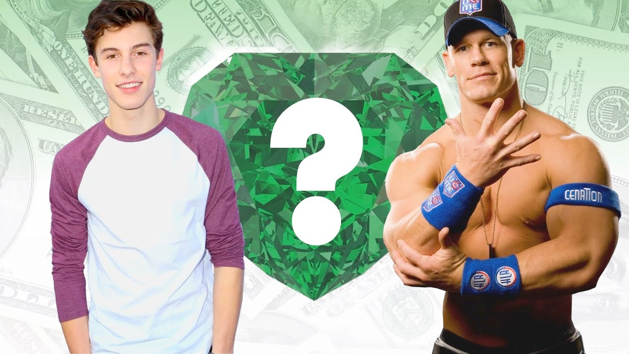 who s richer shawn mendes or john cena net worth revealed youtube. Black Bedroom Furniture Sets. Home Design Ideas