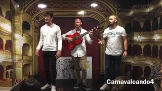 Julián, Piojo chico y Javi Ramírez (Pasodoble No tengo fortuna ninguna) - Tatachín de la Frontera