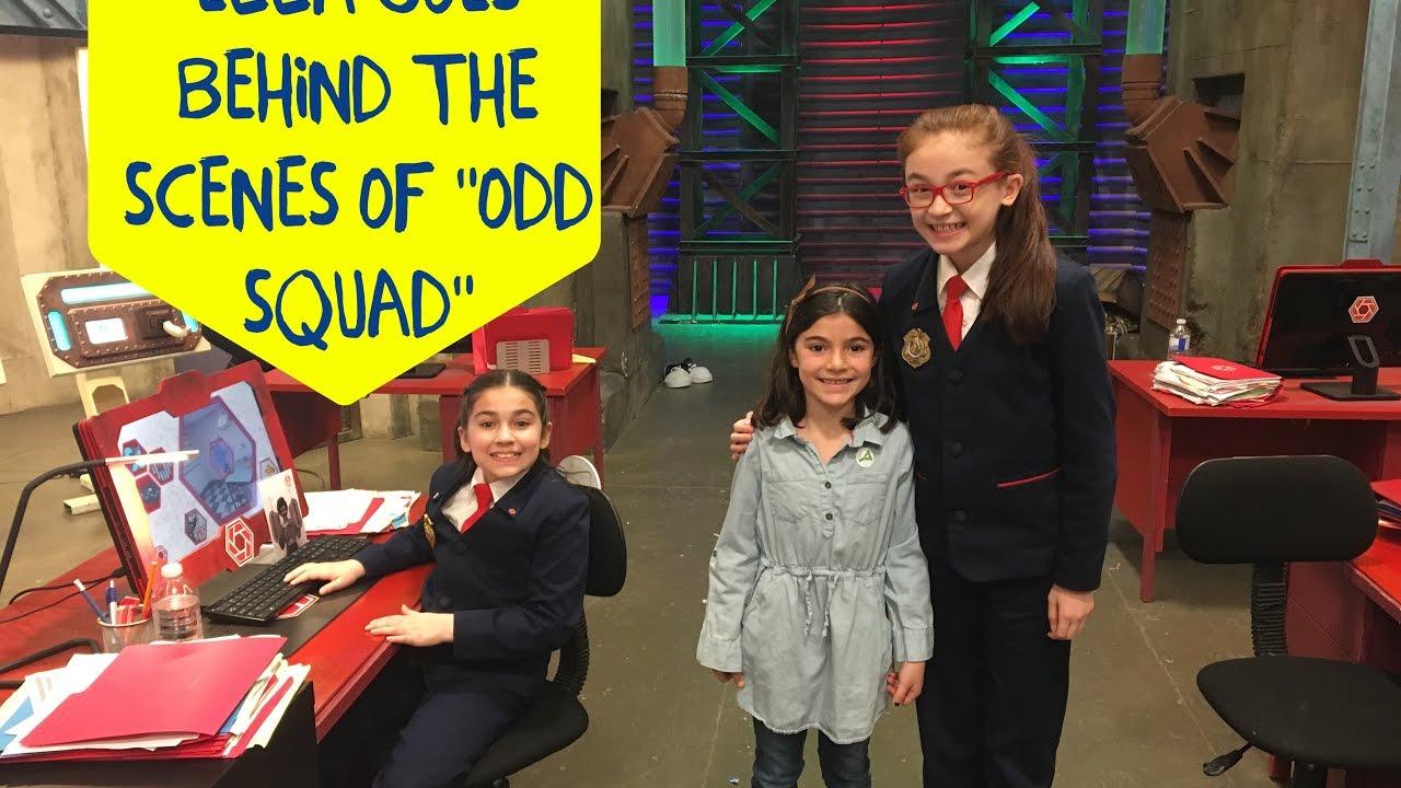 Ella goes behind the scenes of Odd Squad