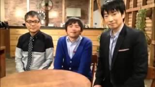 テレビ番組「ボクらの時代」2013年4月28日より。 個性的な3人の話が魅力...