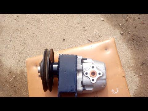 Привод насоса НШ-10 без токарных работ.