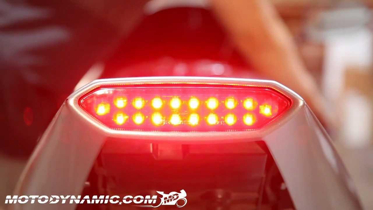LED Tail Light Brake Light Turn Signals for 2002-2003 Yamaha YZF R1 YZF-R1 Smoke
