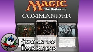 "Mono Black ""Sworn to Darkness"" Commander 2014 Deck Tech featuring Ob Nixilis of the Black Oath!"