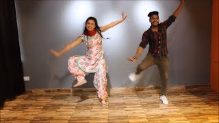 SUIT | NIMRAT KHAIRA | WEDDING SPECIAL BHANGRA | EASY STEPS FOR COUPLE ,THE DANCE MAFIA