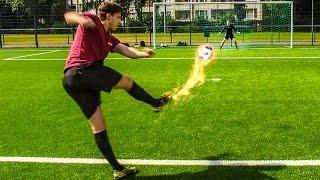 MINI BALL FUßBALL CHALLENGE + BESTRAFUNGEN !