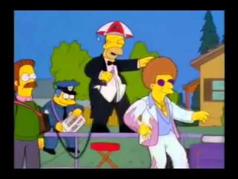 """Hey Don Gastón!"" - Los Simpsons"