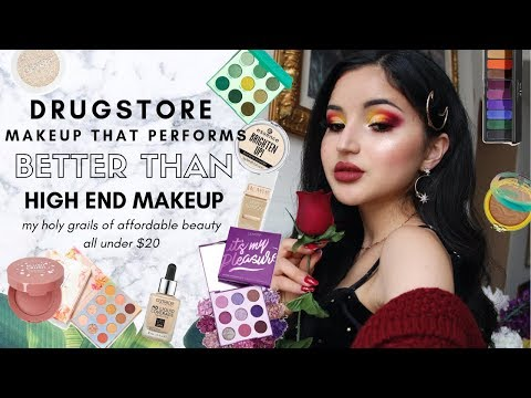 DRUGSTORE + AFFORDABLE Makeup Faves That Perform BETTER Than High-End | Julia Mazzucato