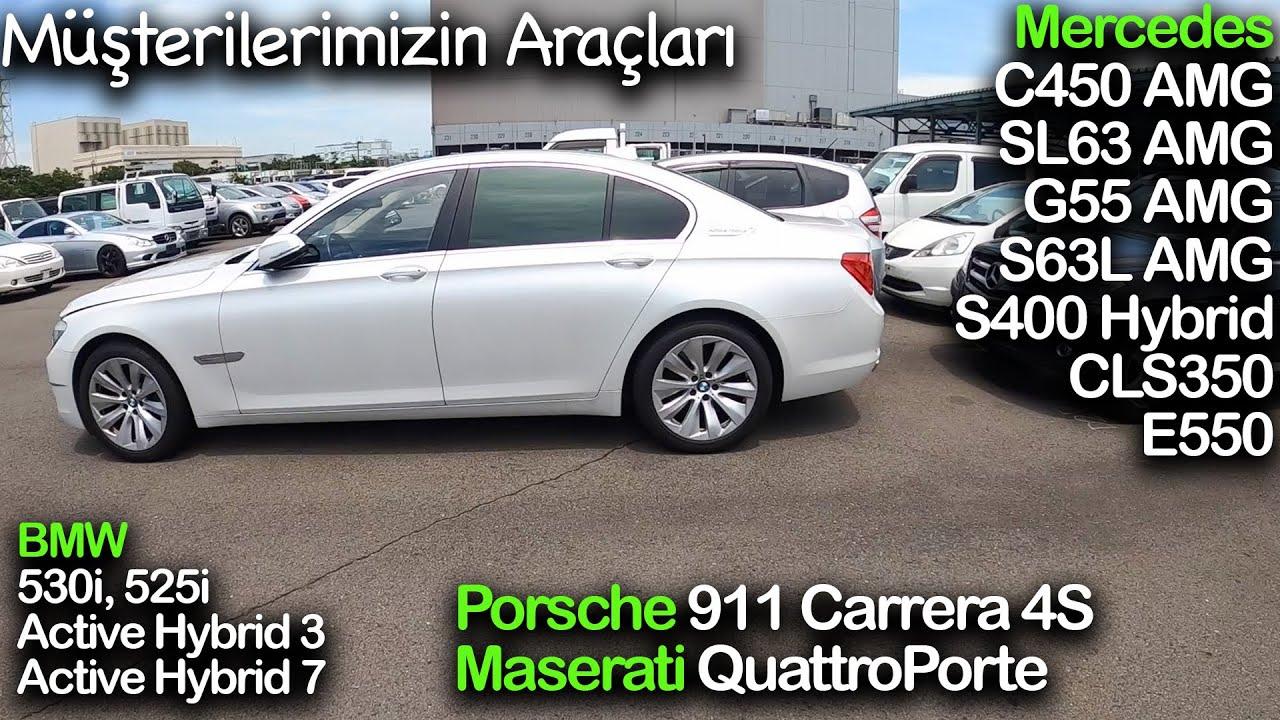 PART 2; Porsche 911 4S, SL63, C450, G55, S63L AMG, BMW 530i, 525i, Hybrid 3, Hybrid 7, Maserati QP