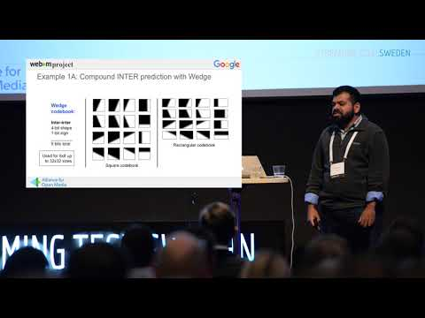 STSWE17: Jai Krishnan from Google and AOMedia giving us an update on AV1