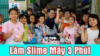 Thử Thách Làm Slime Mây 3 Phút Nhận Quà Liền Tay Tại Squishy Ngọc Trinh Shop