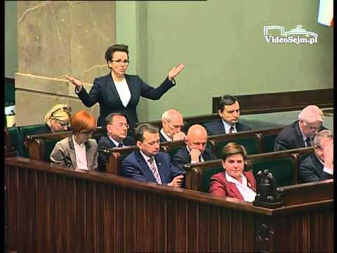 Joanna Kluzik Rostkowska - wystąpienie z 29 grudnia 2015 r.