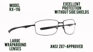 Prescription Safety Glasses: #RX-116