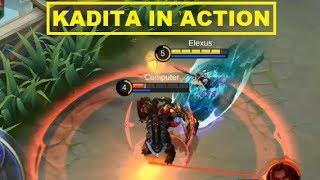 New Hero Kadita (Nyi Roro Kidul) Gameplay - Mobile Legends Patch 1.3.22