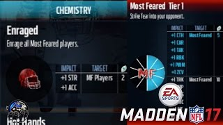 HOW TO UNLOCK ENRAGED CHEMISTRY IN MUT 17 MOST FEARED PROMO! | MADDEN 17 TIPS