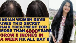 Apply this Hair Mask everyday turn thin to thick hair STOP HAIR FALL in 5 Days HAIR GROWTH MASK