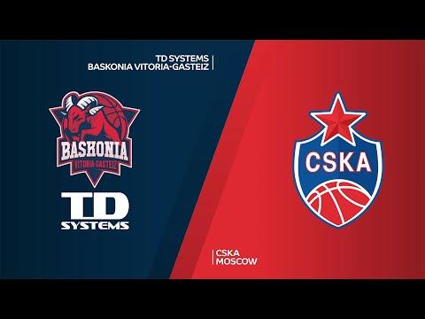 TD Systems Baskonia Vitoria-Gasteiz-CSKA Moscow Highlights | Turkish Airlines EuroLeague RS Round 18