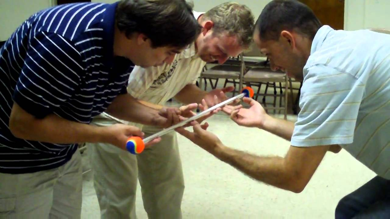 Team building games helium stick youtube - Team building swimming pool games ...