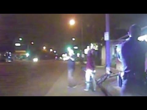 Dashcam shows police shooting of unarmed man