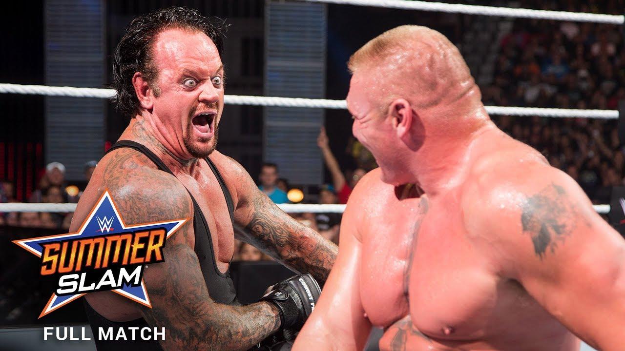 Download FULL MATCH - Brock Lesnar vs. The Undertaker: SummerSlam 2015
