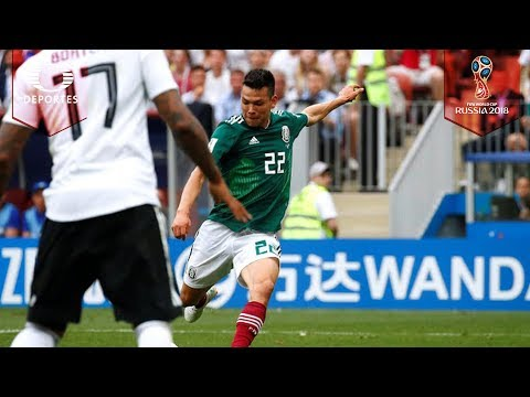 ¡Golazo de Hirving Lozano!   Alemania 0 - 1 México   Mundial Rusia 2018