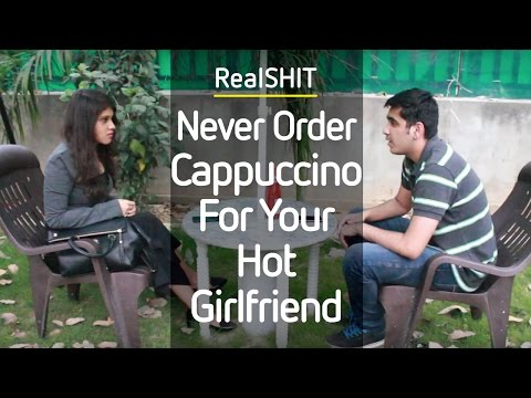 Never Order A Cappuccino For Your Hot Girlfriend